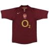 2005-06 Arsenal Highbury Home Shirt Henry #14 S