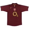 2005-06 Arsenal Highbury Home Shirt Henry #14 M.Boys