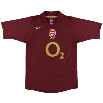 2005-06 Arsenal Nike Commemorative Highbury Home Shirt *Mint* L