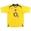 2005-06 Arsenal Reserves Match Issue Away Shirt #4 XL