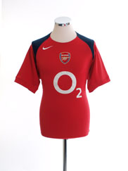2005-06 Arsenal Training Shirt S