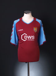 2005-06 Aston Villa Home Shirt XL
