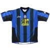 2005-06 Atalanta Home Shirt Budan #9 L