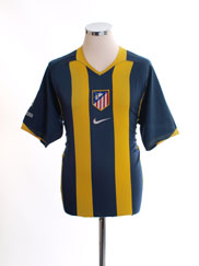2005-06 Atletico Madrid Away Shirt M