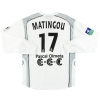 2005-06 Bastia Uhlsport Match Issue Away Shirt Matingou #17 L/S XL