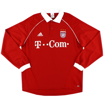 2005-06 Bayern Munich Home Shirt L/S #5 L