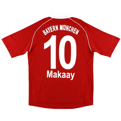 2005-06 Bayern Munich adidas Home Shirt Makaay #10 *Mint* L