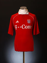 2005-06 Bayern Munich Home Shirt Y