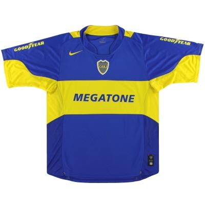2005-06 Boca Juniors Nike Home Shirt L