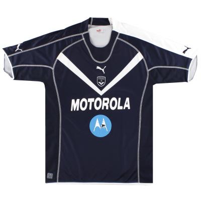 2005-06 Bordeaux Puma Home Shirt L