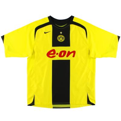 2005-06 Borussia Dortmund Home Shirt L