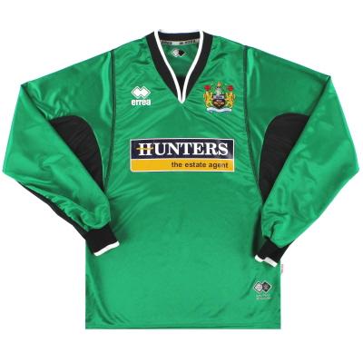 2005-06 Burnley Errea Goalkeeper Shirt XS