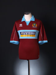 2005-06 Burnley Home Shirt L