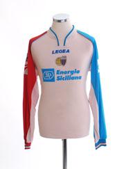 2005-06 Catania Away Shirt #9 L/S XL