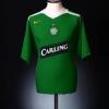 2005-06 Celtic Away Shirt Keane #16 L