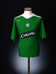 2005-06 Celtic Away Shirt L