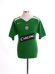 2005-06 Celtic Away Shirt XL