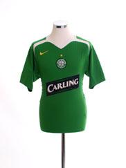 2005-06 Celtic Away Shirt *Mint* L