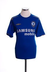 2005-06 Chelsea Centenary Home Shirt M