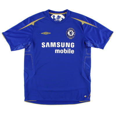 2005-06 Chelsea Centenary Home Shirt XL