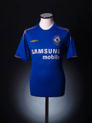 2005-06 Chelsea Centenary Home Shirt XXL