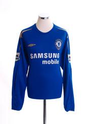 2005-06 Chelsea Home Shirt L/S XL