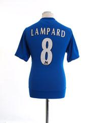 2005-06 Chelsea Home Shirt Lampard #8 M