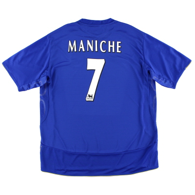 2005-06 Chelsea Home Shirt Maniche #7 *Mint* XXL