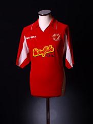 2005-06 Crewe Alexandra Home Shirt *BNWT* L