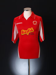 2005-06 Crewe Alexandra Home Shirt L