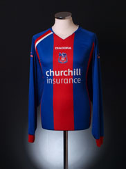 2005-06 Crystal Palace Home Shirt L/S XXL