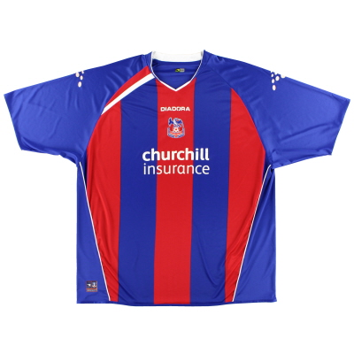 2005-06 Crystal Palace Diadora Home Shirt  XXXL