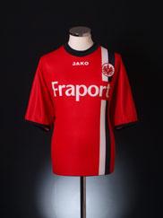 2005-06 Eintracht Frankfurt Home Shirt S
