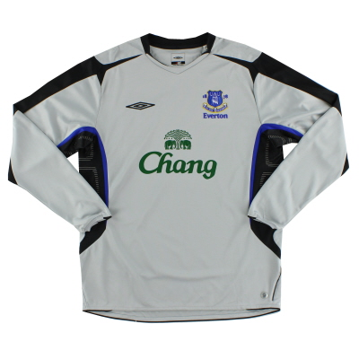 2005-06 Everton Away Shirt L/S L