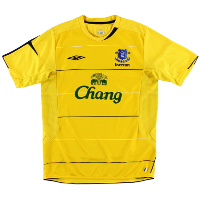 2005-06 Everton Third Shirt S.Boys