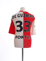 2005-06 Feyenoord Home Shirt De Guzman #33 XL