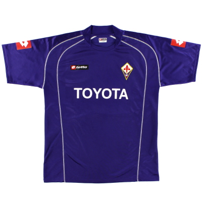 2005-06 Fiorentina Home Shirt XL