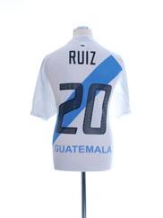 2005-06 Guatemala Home Shirt Ruiz #20 XL