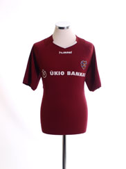 2005-06 Hearts Home Shirt XL