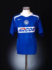 2005-06 Hertha Berlin Home Shirt *Mint* S