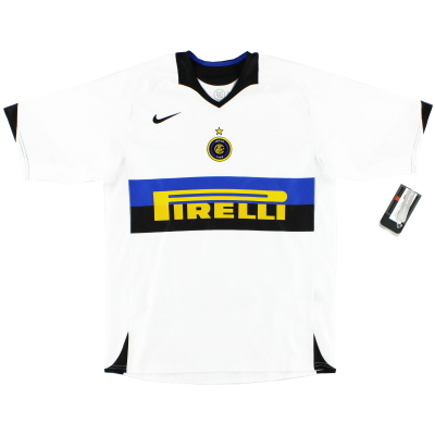 2005-06 Inter Milan Away Shirt *w/tags* M