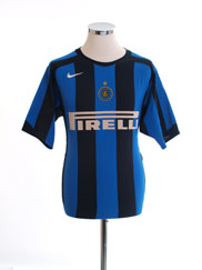 2005-06 Inter Milan Home Shirt S