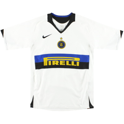 2005-06 Inter Milan Nike Away Shirt L.Boys