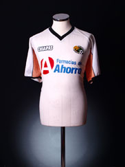 2005-06 Jaguares De Chiapas Away Shirt L