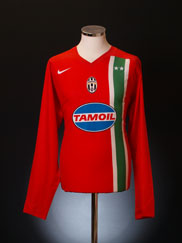 2005-06 Juventus Away Shirt L/S XL