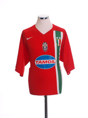 2005-06 Juventus Away Shirt XL