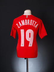 2005-06 Juventus Away Shirt Zambrotta #19 XL.Boys