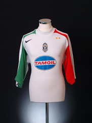 2005-06 Juventus Goalkeeper Shirt *As new* XL