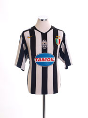 2005-06 Juventus Home Shirt L