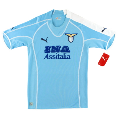 2005-06 Lazio Home Shirt *w/tags* S